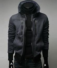 Wholesale New Men s Stylish Slim Zip Up Jacket Color Size