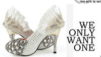 Wholesale SH014 and retail custom made wedding shoes super star dress shoes party shoes