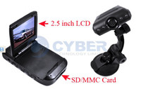 Wholesale DVR Video Road Dashboard Recorder degree2 quot LED TFT LCD Vehicle Car Color Monitor Camera HD S318