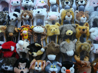 Wholesale Mix Order Animal Caps Party Cartoon Hats Cap Winter Hat Birthday Plush Headgear Adult s