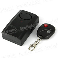 Wholesale Wireless Vibration Alarm Monitor With Remote Control For Home Car Security