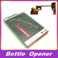 Wholesale Bottle OPENER Metal Key Design Ring Bar Tool With Original Retail Gift Box