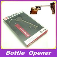 Bottle Openers metal bottle opener - Bottle OPENER Metal Key Design Ring Bar Tool With Original Retail Gift Box