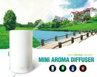 Wholesale Mini Ultrasonic Aroma Diffuser Fresh Natural Fragrant Humidifier Sprayer with Free Perfume