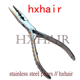 Wholesale 10pcs Stainless Steel Pliers High grade Multi Function Pliers Hair extension tools
