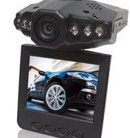 1 channel ir camera - HD car camera car DVR H wide angle degree rotation LCD IR night vision car black box