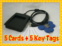 Wholesale RFID Proximity ID Card Reader for access control system with Cards Key