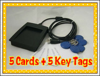 Wholesale 125Khz EM4100 RFID Proximity ID Reader Cards Key Tags from bivictory