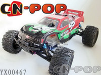 Wholesale RC gas buggy model car toys CC nitro gas HL WD off road big foot radio remote control truck