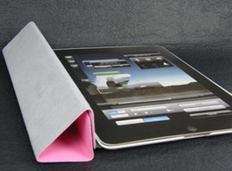 Wholesale For pad2 Smart Cover Leather Case Hard Back Case Stand Sleep Wake Up Function pc R