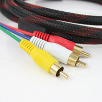 Wholesale 5 feet M HDMI Male to RCA RCA Video Audio AV Cable