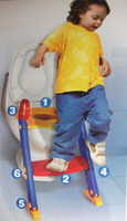 Cheap Abar-REGIS Baby Kids Toilet Training Seat Trainer - Bambino with step