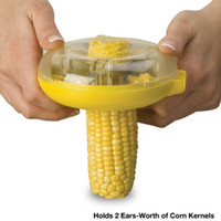 Wholesale New arirval One Step Corn Kerneler Kitchen Corn Tools Dhgate authorized supplier