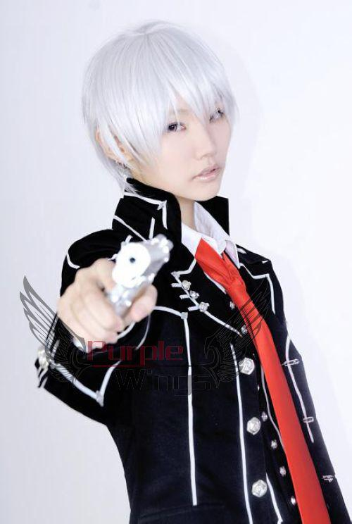 Short White Hair Cosplay 91