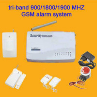 Wholesale tri band tri band MHz GSM home alarm system MHz GSM home alarm system