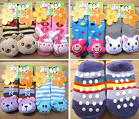 Wholesale Thick Cartoon Socks children lovely Terry SOCK Kids In tube socks socks