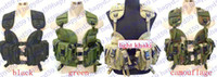 Wholesale Chest Vest adjusted Navy Seals modular assault vest tactical vest hump water pouch vest light khaki