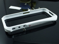 Wholesale White Limited Deff Cleave Aluminum Metal Case Bumper Frame for iPhone s g retail box