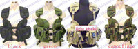 Wholesale U S Navy Seals CQB LBV modular assault vest tactical vest field operation vest hump water pouch vest