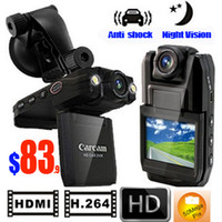 Wholesale New Full HD P HDMI Car Vehicle Video Camera DVR Support Motion Detect Night Vision IR