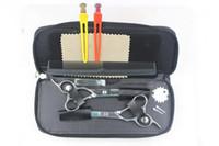 Wholesale Hair Scissors left handed Hair Scissors Cutting Scissors amp Thinning Scissors INCH NEW
