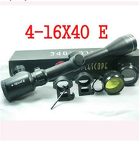 Wholesale 4 x40E Red Illuminated Range Finder Rifle Scope S