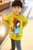 Wholesale Children Sweaters Children hoodies pullover Long sleeve shirts Thicken shirts Winter sweater