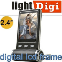 Wholesale christmas ornament Black Mini inch LCD Digital Photo Frame Picture Slide show USB Cable