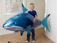 Wholesale air fish flying fish remote control Air Swimmer Flying Shark Clownfish RC fly Fish