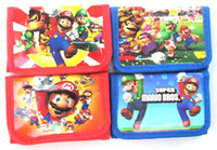 Wholesale Hot Sell Super Mario Cartoon wallets purses gift bags