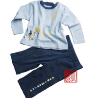 Cheap Baby suit,Kids long sleeve set,Baby Pyiama 2-teilig,Baby clothes,Long Sleeve T-shirts+Pants