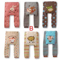 Wholesale Busha PP Pants Baby Legging Warmer Baby Pants Cute Animal Pants