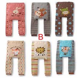 Wholesale PP Pants Baby Legging Warmer Baby Pants Cute Animal Pants