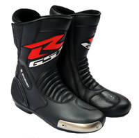 Wholesale motorcycle racing boots for gsx r alloy material wear blocks