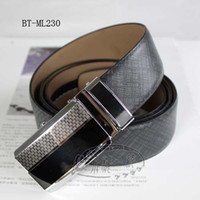 Wholesale Men Auto Lock Buckle Genuine Leather quot Dress Belts BT ML230 SM XXXL