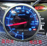 Wholesale New year Price inch mm defi car gauge boost volt RPM ect in stock fast sell car meter
