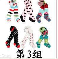 achat en gros de yuelinfs pants-Le pantalon de 18pcs Yuelinfs busha fille chaussettes Jambières collants bas de pantalons enfants