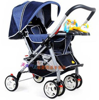Wholesale Baby Strollers Can Lie Low Can Sit Stroller Super Light Folding