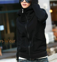 Wholesale Korean Autumn Fashion ladies women s outer clothing outer outerwear hooded sweaters