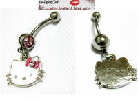 Wholesale Navel Belly Button Ring Pirericing Body Jewelry Hot Sexy Lovely Accesories Japan CAT Xmas