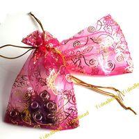 Wedding gift - 100 New Wedding Gift Organza Pouches Bags x12cm
