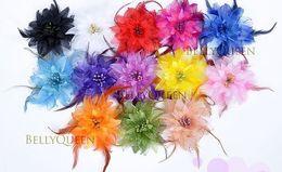 BELLY DANCE HAIR CLIP HEADBAND HEADDRESS COSTUME Please choose Color Belly Dance Flower Belly Dance Accessory