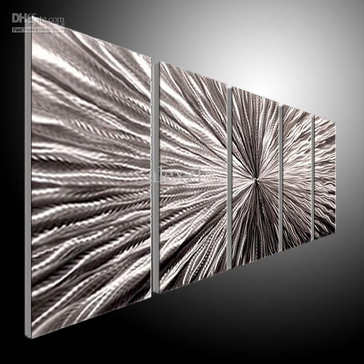 Best metal wall art abstract contemporary sculpture home for Decor mural metal