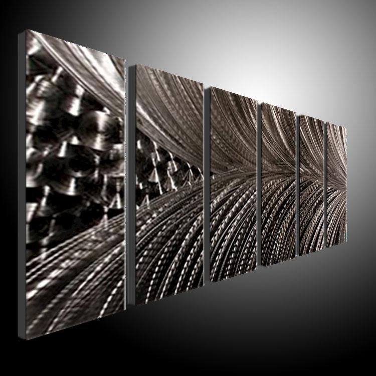 Metal Wall Art Abstract Contemporary Sculpture Home Decor Modern Huge Explosion 111090b Metal Wall