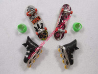 Wholesale Extreme Speed Finger Skate Board Toys with Roller skates finger skate boards toy