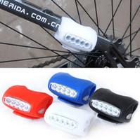Light bicycle frog light - Hot Bike Lights Bike Bicycle LED Silicone Super Frog Head Front Lamp Warning Rear Light