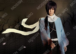 Wholesale New Short Purple Black Party Cosplay Wig