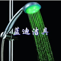 Wholesale Bathroom accessories handheld led shower faucet bateroom faucet
