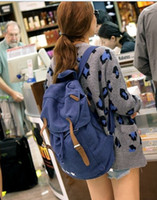 Wholesale New style Canvas backpacks new fashion backpacks for women fashion backpacks Leisure backpacks