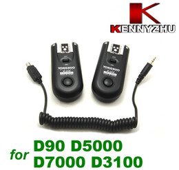 Wholesale Yongnuo Wireless Flash Trigger Remote Control RF FSK GHz For D5100 D3100 D7000 D5000 D90